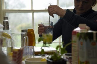 Mocktail workshop at Gunby Hall